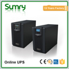 LCD and LED user interface high efficiency online ups 1kva to 3kva 700w to 2100w