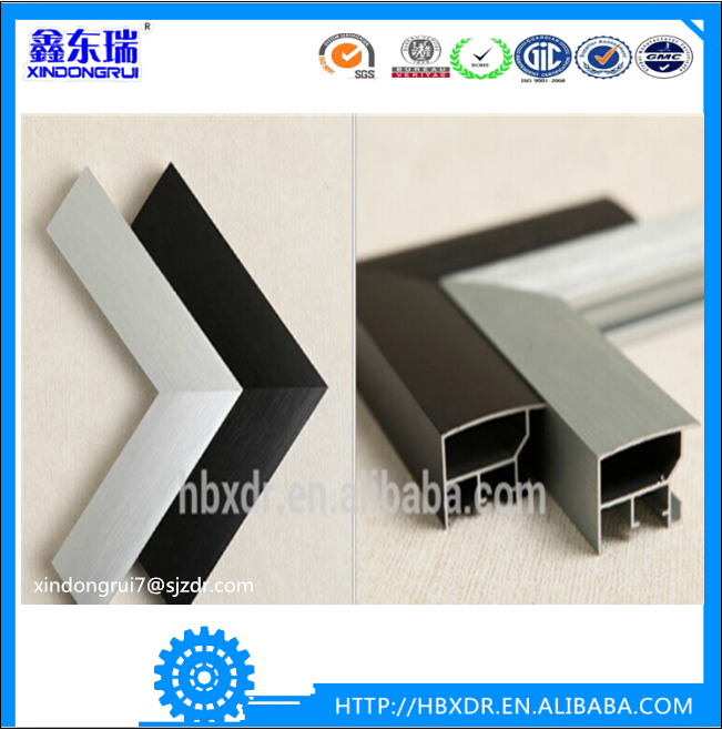 Hot sale top quality 6000 series aluminium floor strip profile for home decorated