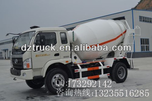 Foton Forland 4*2 4000 liters mini concrete mixer for sale