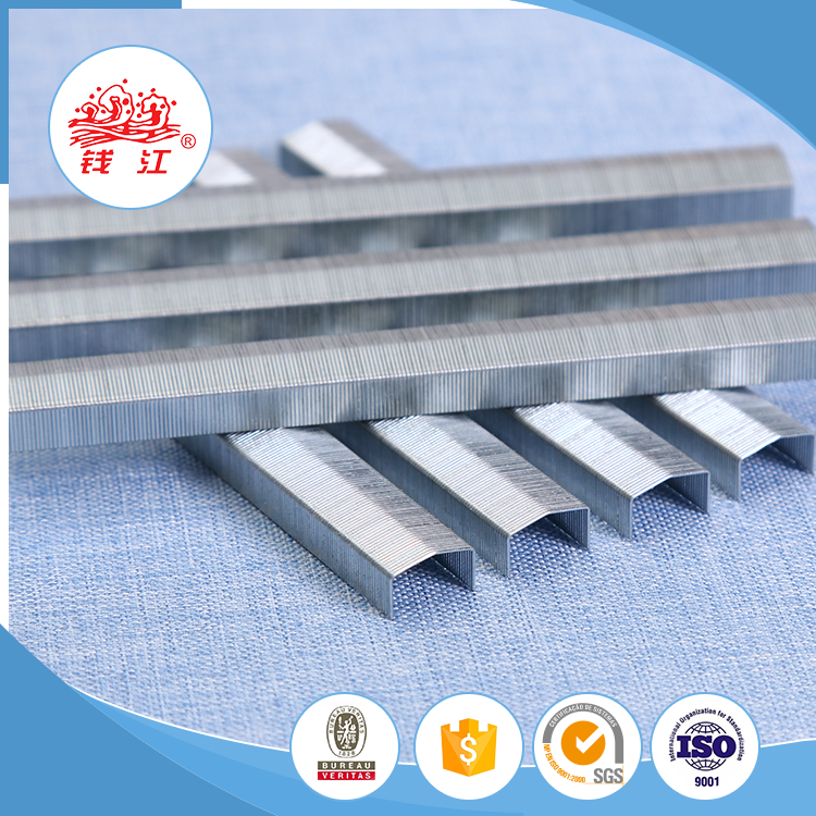 Gold Manufacturers supplier B8 series office staple pin
