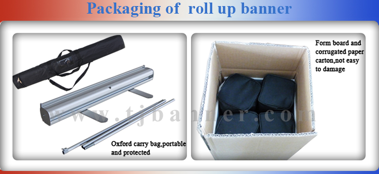 Roll Up Stand Printing For Advertising/Roll Up Banner/Roll Up