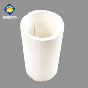 Calcium Silicate Pipe Cover Thermal Insulation Material For Oven