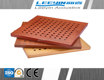 New Products On China Market Acoustic Wood Panel For Recording ...