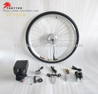 36V 350W brushless geared electric motorcycle e bike conversion kit cheap for sale