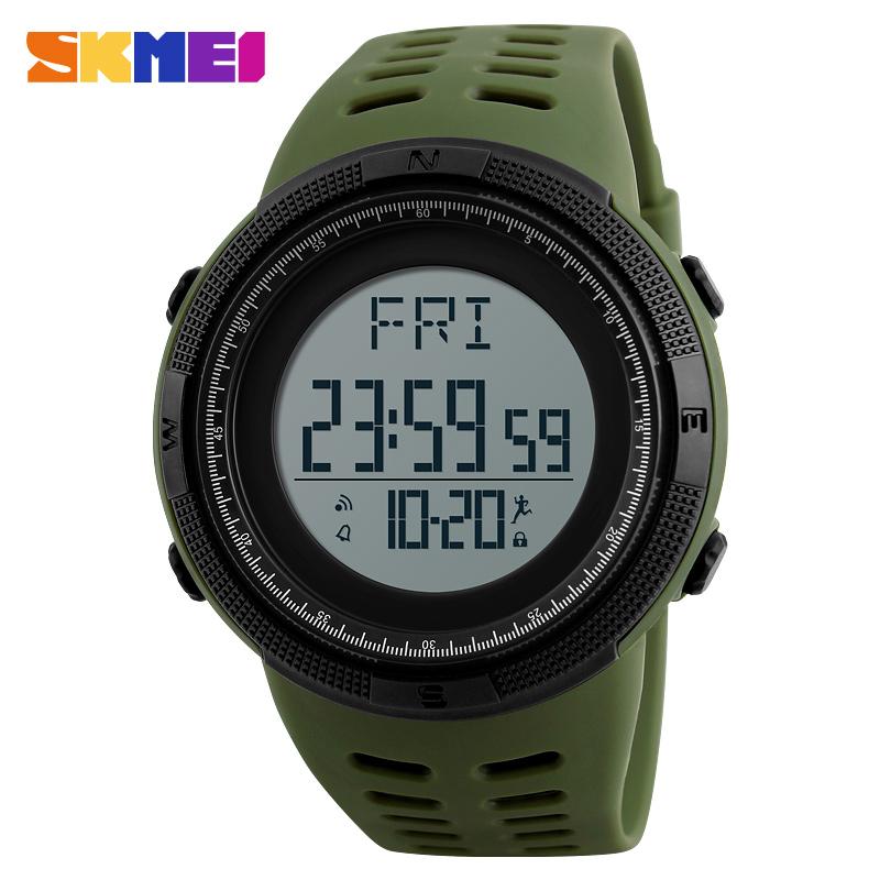 Skmei Männer Smart Uhr Calorie Pedometer Multi-funktionen Fernbedienung 50 M Wasserdichte Digitale Sport Männer Smartwatch Relogio Masculino Herrenuhren
