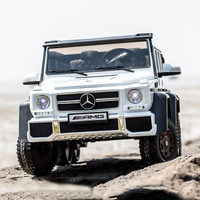 Mercedes-Benz G63 Ride on Car Kids RC Car Remote Control Electric Powered Wheels for children