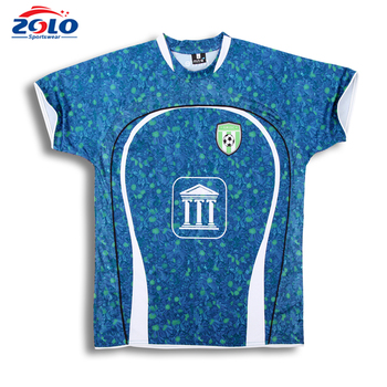 China supplier new style no logo custom football jerseys
