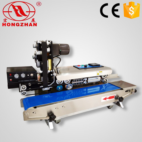 Adjustable Sealing Height Consecutive Seal Machine Continuous Bag Impulse Heat Bonding Adhesive Device Equipment
