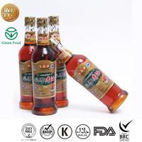 Heat treated black sesame oil use for food