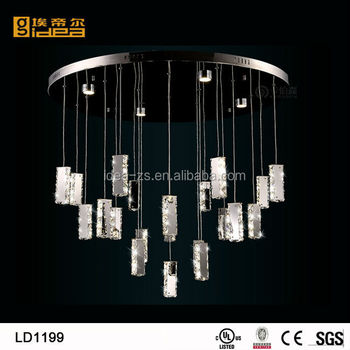 ld1199 crystal baguette 3d laser crystal with led light base kitchen lighting fixtures lowes. Black Bedroom Furniture Sets. Home Design Ideas