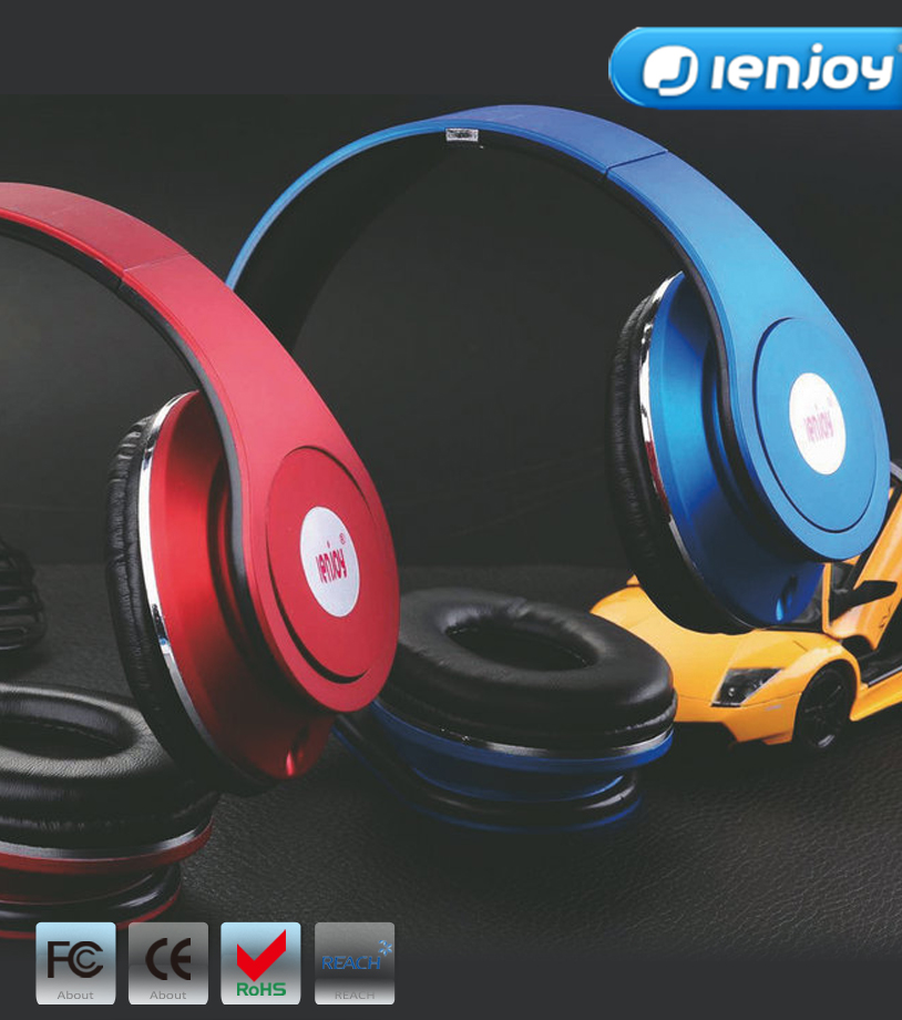 ienjoy bulk new headphone wired communication and hearing protect headset