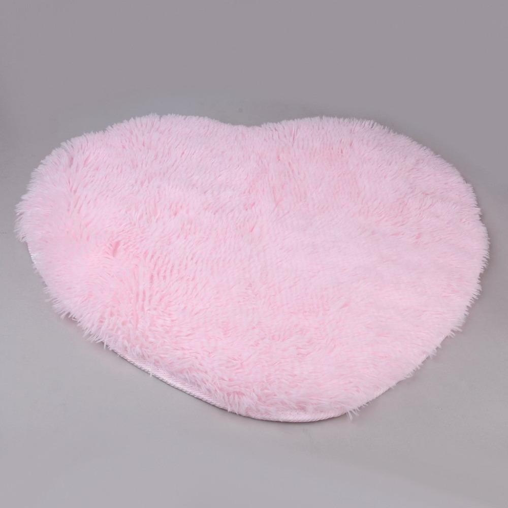 Aliexpress.com : Buy 50cm X 60 Cm Soft Heart Design Fluffy