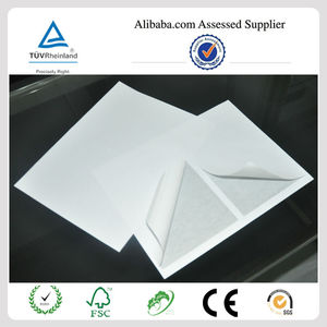 Premium self adhesive waterproof shipping half sheet labels for international mail PayPal,USPS