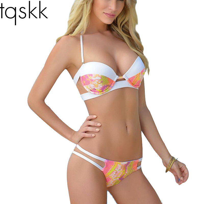 dd158f7ad11 Push Up Bikini Brazilian 2018 Hot Sexy Bikinis Women Swimsuit Push Up Bikini  Set Bathing Suits Halter Top Plus Size Swimwear