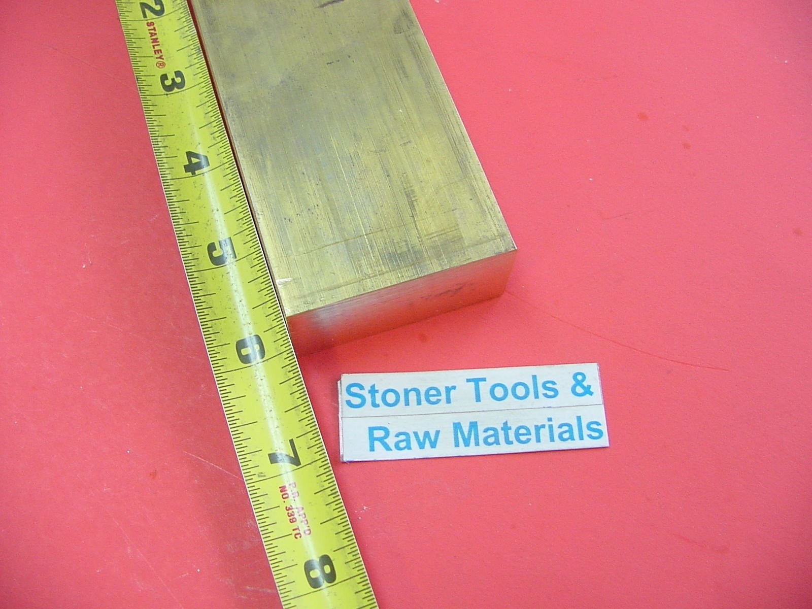 3 Pieces 1//4 x 2 C360 BRASS FLAT BAR 12 long Solid .250 Mill Stock H02