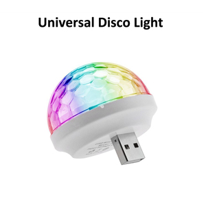 Mini colorful led disco light bulbs portable disco ball for KTV stage effect