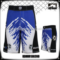 Professional Polyester And Spandex Men Custom Design Short Mma Store