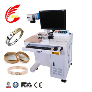 Cheap price jewelry silver gold 20w fiber laser engraving marking machine for sale