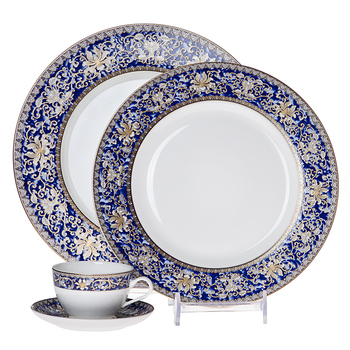 Luxury Fine Bone Wedding Use Antique Bone China Dinnerware Set,Diner Set Dinnerware!