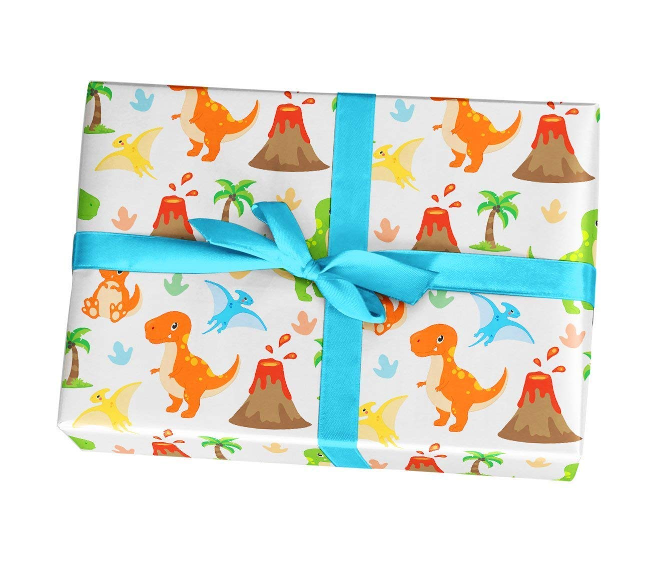 Get Quotations Dino Wrapping Paper Sheets