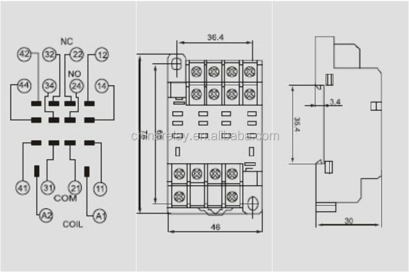 Asiaon Ptf14a 10a Ly4 14 Pin Relay Socket View Rhchinarelayenalibaba: 14 Pin Relay Socket At Amf-designs.com