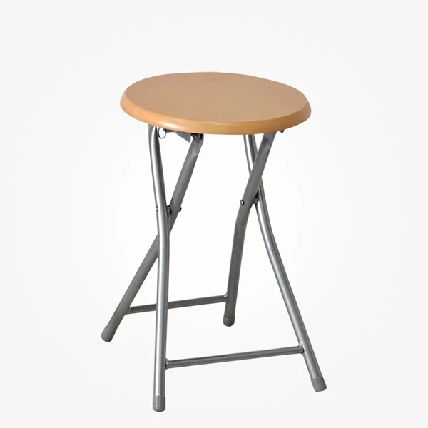 Portable Metal Round Folding Stool DT-02 Green