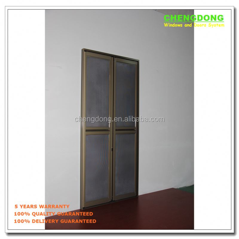 Tansive construction double glazed soundproof aluminium supplier folding exterior french doors