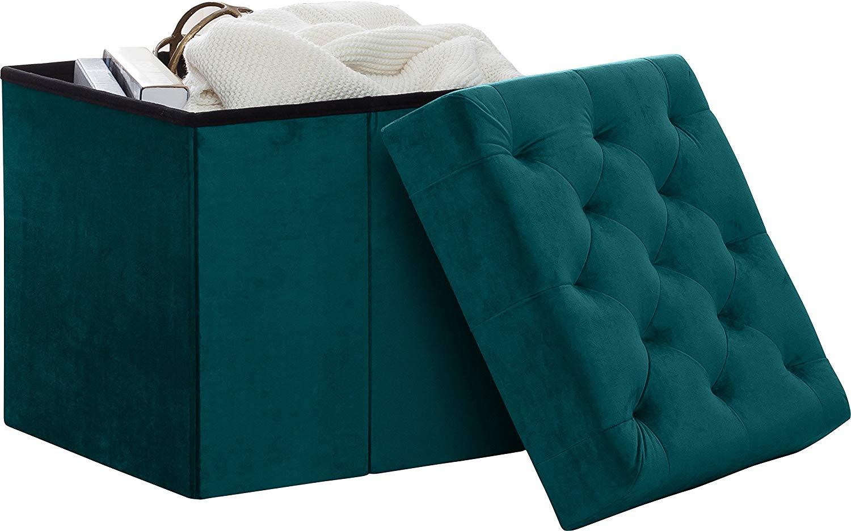 Marvelous Cheap Velvet Ottoman Storage Find Velvet Ottoman Storage Inzonedesignstudio Interior Chair Design Inzonedesignstudiocom