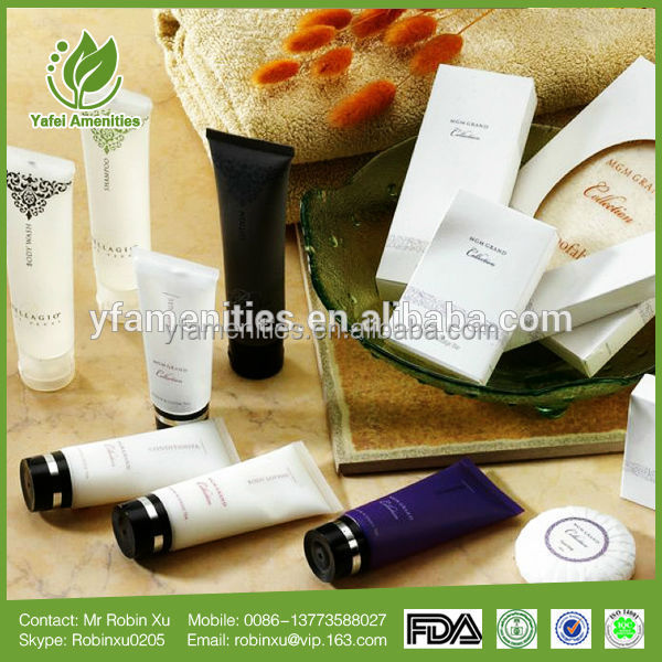 Hotel toiletries product/ disposable hotel customizable logo guest amenities