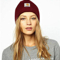 Autumn Winter Hats Women Cap Men 2017 Unisex Casual Knitted Woolen Winter Elastic Slouch Beanie Hat Cap Skateboard Hats Caps
