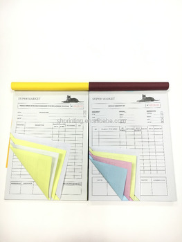 all kinds of professional customized service hotel receipt book