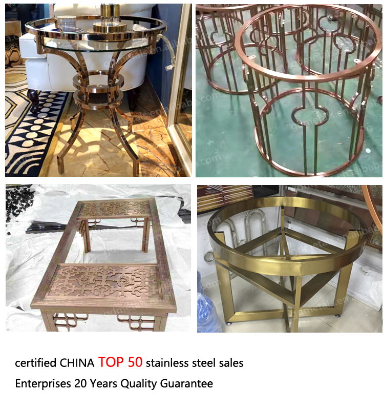 Stainless Steel Centre Table Metal Furniture Legs