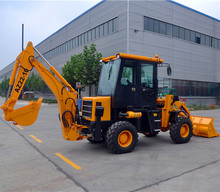 China Mini Tractor Backhoe Loader For Sale