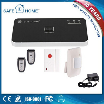 High quality APP control auto dial gsm security smart wireless alarm system