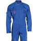 GuardRite Brand Cheap Wholesale Blue 100% Cotton Fireproof Workwear Coverall , Fire Resistant Coverall
