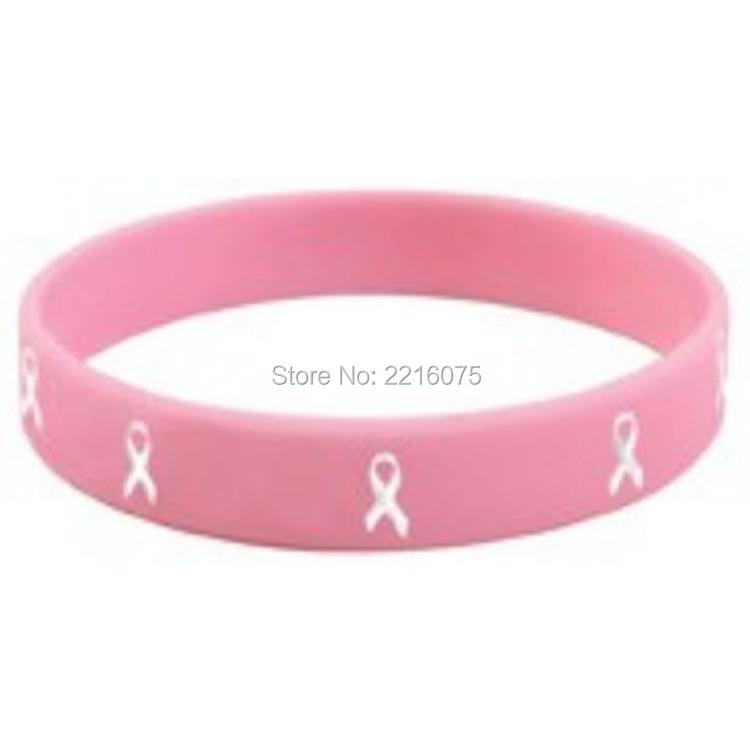 Pink breast cancer band bracelets remarkable