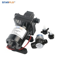 STARFLO 55PSI 11.3LPM food grade small electric automatic liquid transfer powerful dc water pump 12v for water