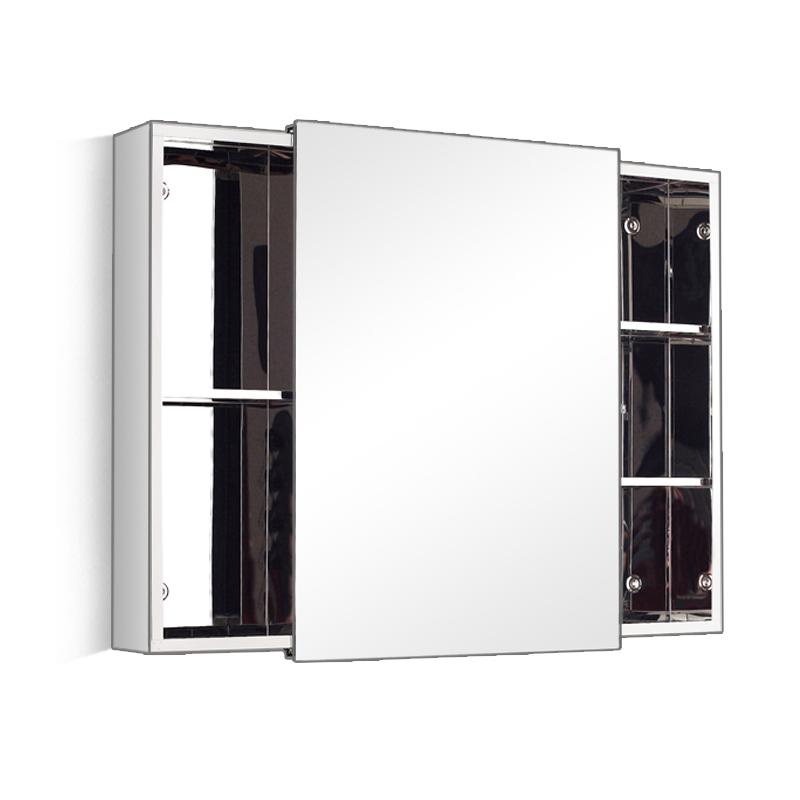 Small Waterproof Sliding Door Bathroom Vanity Mirror Cabinet 7094 Buy Mirror Cabinet Sliding