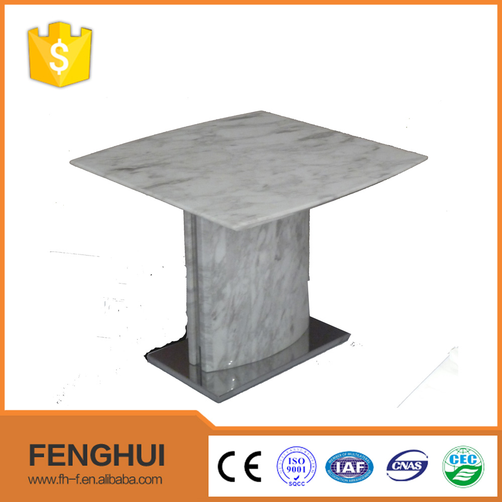 Contemporary marble new style coffee side table