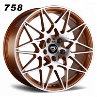 REP:758, New design alloy wheels,high quality wheels,car rims for M4,M3,M5,M7, Golden Polished