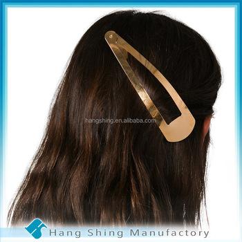 plat haar clip jumbo grote metalen haar clip haaraccessoires groothandel
