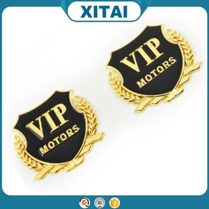 Xitai car accessories VIP motors car window car sticker with metal material art.-no.28