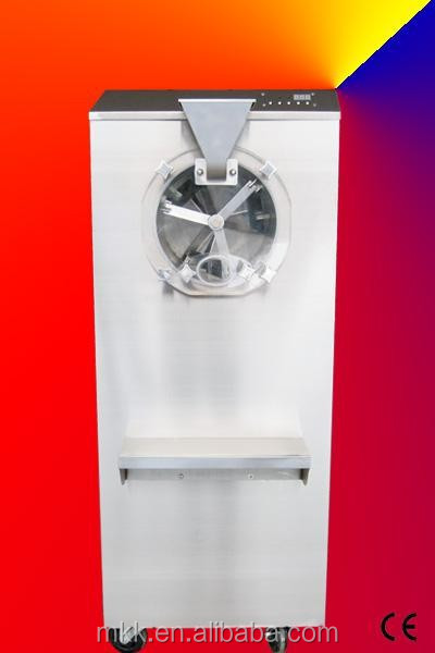 CE Counter top Commercial Batch Freezer / Gelato Ice Cream Machine / Hard Ice Cream Machine