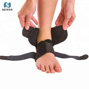 Sports foot protective comfortable neoprene adjustable ankle belt