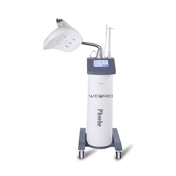 Beauty Machine for 3 color led light therapy equipment with oxygen treatment