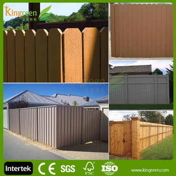 cheap composite fence panels outdoor dog fence plastic fence