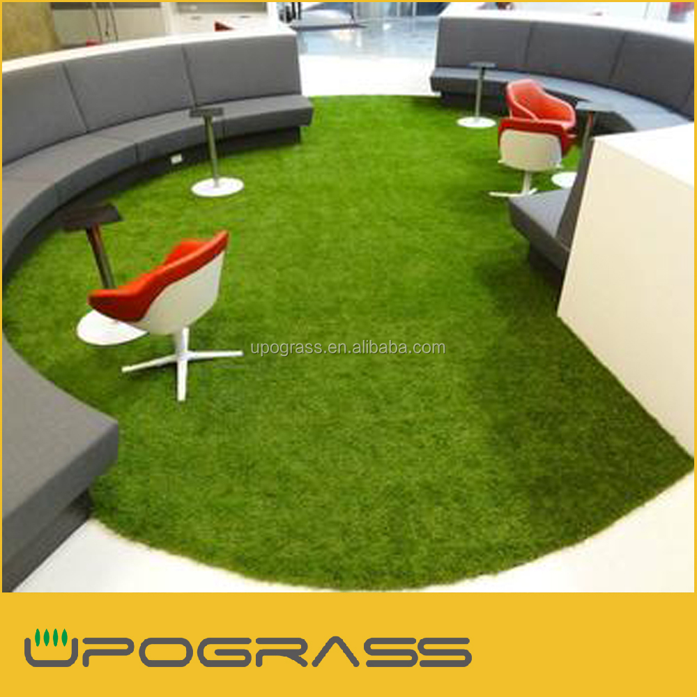 Professional supply S shaped fiber, VERY Durable residential artificial turf cost in China