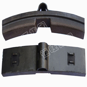 railway train locomotive brake block brake shoe