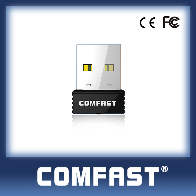 COMFAST ( CF-WU712P) RTL8188EUS WPS Button 150mbps Factory Price Mini Dongle