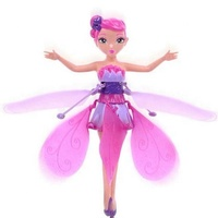 2019 New Toy Products Infrared Sensor Control Child Flying Fairy Doll Toy